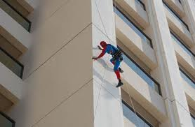 Las Vegas Window Cleaning Spiderman