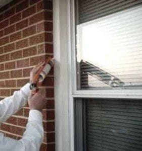 how to caulk your windows and stop drafts