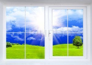 let more light in with clean windows