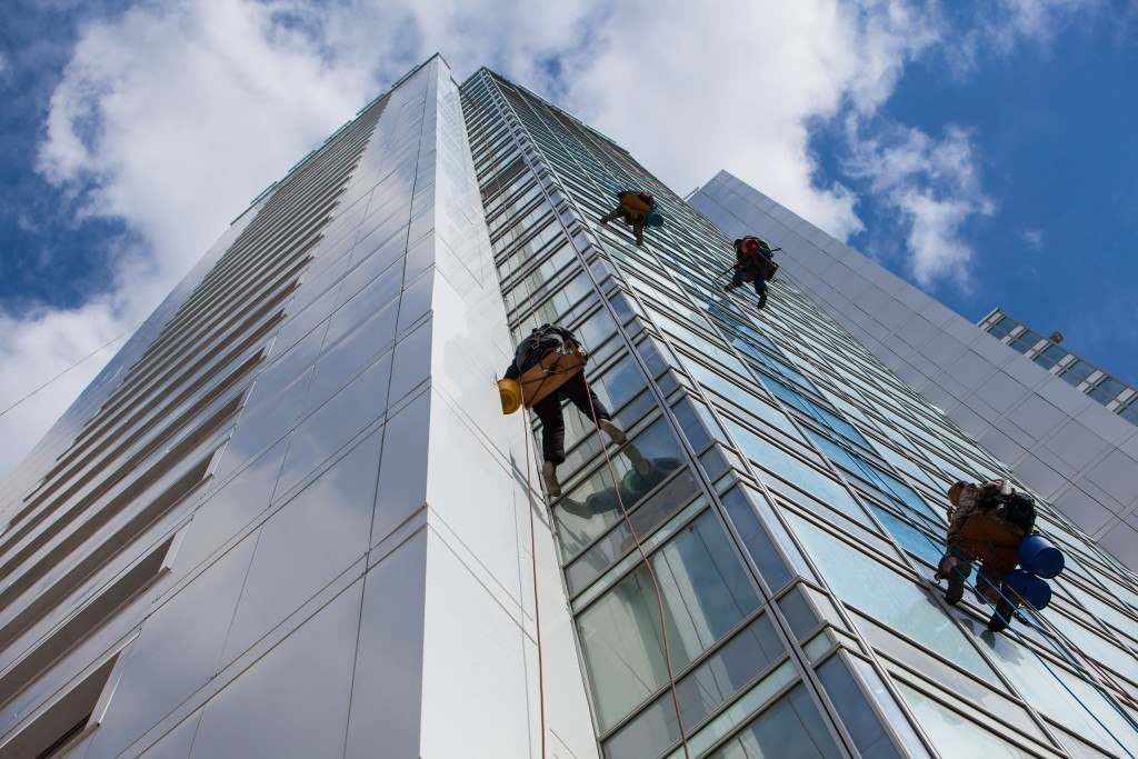 Window Cleaning for High Rise Buildings
